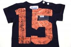 画像2:  【SALE40%OFF!!】 Lee×stompstampナンバープリント半袖Tシャツ【キッズ】【ベビー】【子供】【コン】 (2)