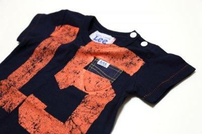 画像2:  【SALE40%OFF!!】 Lee×stompstampナンバープリント半袖Tシャツ【キッズ】【ベビー】【子供】【コン】