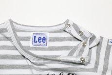 画像3:  【SALE40%OFF!!】 Lee(リー)×StompStamp(ストンプスタンプ) デザイナー関根コラボボーダーロンT 【キッズ】【ベビー】【子供】【ボーダー】 (3)