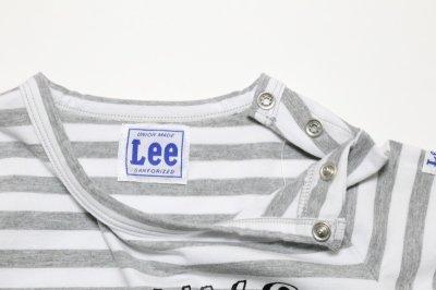 画像1:  【SALE40%OFF!!】 Lee(リー)×StompStamp(ストンプスタンプ) デザイナー関根コラボボーダーロンT 【キッズ】【ベビー】【子供】【ボーダー】