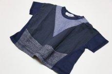 画像5:  【SALE40%OFF!!】 Geewhiz(ジーウィズ)キラキラのお家/ゆるポケットTシャツ【navy】 (5)