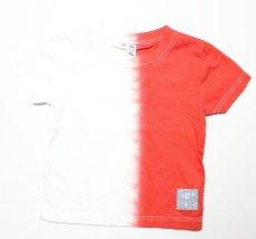 画像3:  【SALE40%OFF!!】 Geewhiz(ジーウィズ) 赤と黒/半袖Tシャツ【red】【80-140cm】 (3)