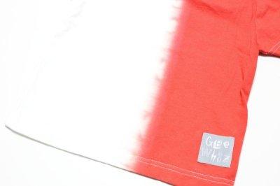 画像2:  【SALE40%OFF!!】 Geewhiz(ジーウィズ) 赤と黒/半袖Tシャツ【red】【80-140cm】