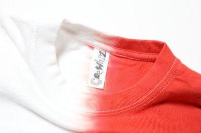 画像1:  【SALE40%OFF!!】 Geewhiz(ジーウィズ) 赤と黒/半袖Tシャツ【red】【80-140cm】