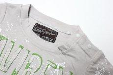 画像2:  【SALE40%OFF!!】 AVIREX (アヴィレックス) ロゴ刺繍Tシャツ【グレー】【80-140cm】 (2)
