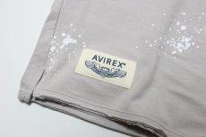 画像5:  【SALE40%OFF!!】 AVIREX (アヴィレックス) ロゴ刺繍Tシャツ【グレー】【80-140cm】 (5)