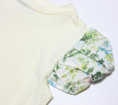 画像2:  【SALE40%OFF!!】 HIGHKING(ハイキング) puff short sleeve【natural】【100-120cm 】