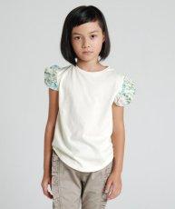 画像1:  【SALE40%OFF!!】 HIGHKING(ハイキング) puff short sleeve【natural】【100-120cm 】 (1)
