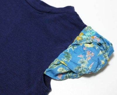 画像2:  【SALE20%OFF!!】 HIGHKING(ハイキング) puff short sleeve【navy】【130-140cm 】