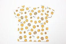 画像3:  【SALE30%OFF!!】 Lee(リー)×StompStamp(ストンプスタンプ) オレンジ柄半袖Tシャツ【オレンジ】【キッズ/ベビー】【80-140cm】 (3)