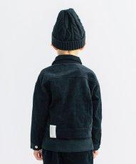 画像2: SMOOTHY(スムージー) コーデュロイJK 【BLACK】【110-160cm】 (2)