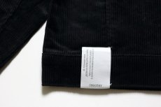 画像7: SMOOTHY(スムージー) コーデュロイJK 【BLACK】【110-160cm】 (7)