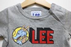 画像2: 【SALE20%OFF】Lee(リー)×StompStamp(ストンプスタンプ)×ドラゴンボール LeeロゴTシャツ【グレー】【ベビー/キッズ】【80-120cm】 (2)