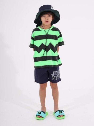 画像1: HIGHKING(ハイキング) strange short sleeve【lime】【90-150cm 】