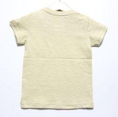 画像2: Lee(リー)×StompStamp(ストンプスタンプ)×PEANUTS(ピーナッツ) スヌーピーサーフポケット半袖Tシャツ【ベージュ】【キッズ/ベビー】【80-140cm】 (2)