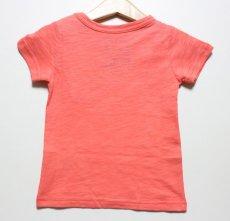 画像2: PEANUTS(ピーナッツ)×StompStamp(ストンプスタンプ) スヌーピーポケット付き半袖Tシャツ【ピンク】【キッズ/ベビー】【80-140cm】 (2)