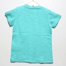 画像2: Lee(リー)×StompStamp(ストンプスタンプ)×PEANUTS(ピーナッツ) スヌーピーサーフポケット半袖Tシャツ【グリーン】【キッズ/ベビー】【80-140cm】 (2)