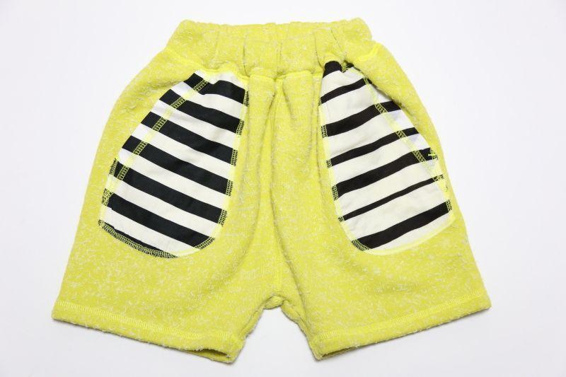 画像1:  【SALE40%OFF!!】 Geewhiz(ジーウィズ)キラキラのお家/ハーフパンツ【yellow】 (1)