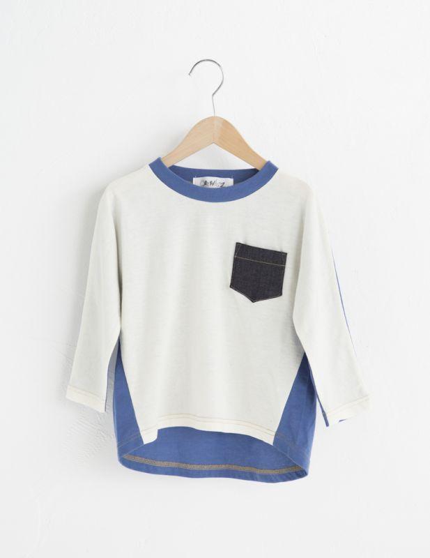 画像1:  【SALE40%OFF!!】 Geewhiz(ジーウィズ)YOU&GHOST/ロングTシャツ【white】 (1)