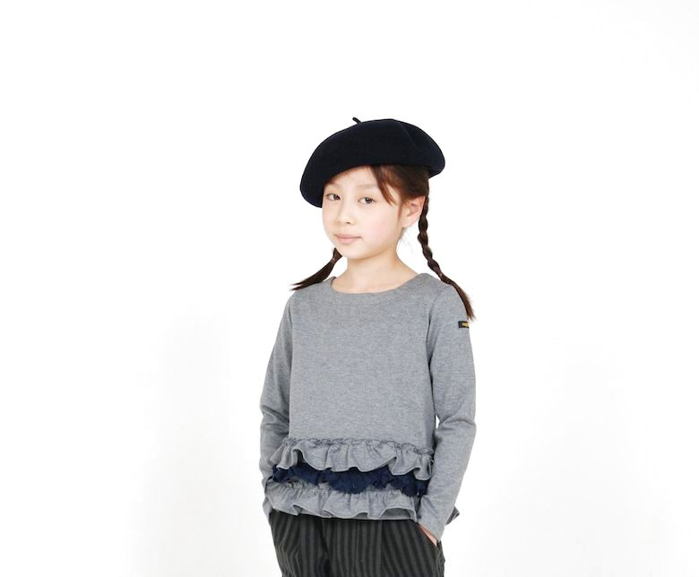 画像1:  【SALE40%OFF!!】 HIGHKING(ハイキング) trifle long sleeve【gray】 (1)