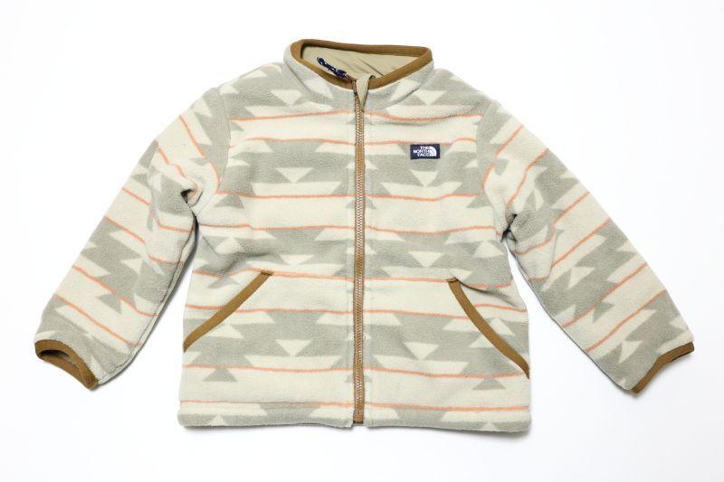 画像1:  【SALE40%OFF!!】 THE NORTH FACE(ザ・ノースフェイス)Kids' Reversible Bask Jacket(キッズ  リバーシブルバスクジャケット) 【NB/ネイティブベージュ】【100-150cm】 (1)
