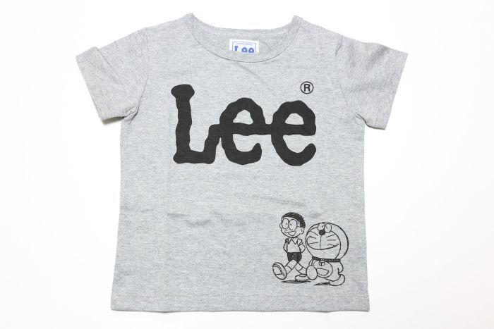 画像1:  【SALE20%OFF!!】 Lee(リー)×I`m Doraemon半袖Tシャツ【グレー】【キッズ/ベビー】【80-140cm】 (1)