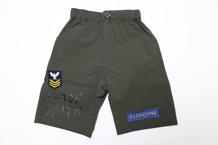 画像1:  【SALE20%OFF!!】 HIGHKING(ハイキング) smith shorts【khaki】【130-140cm 】 (1)