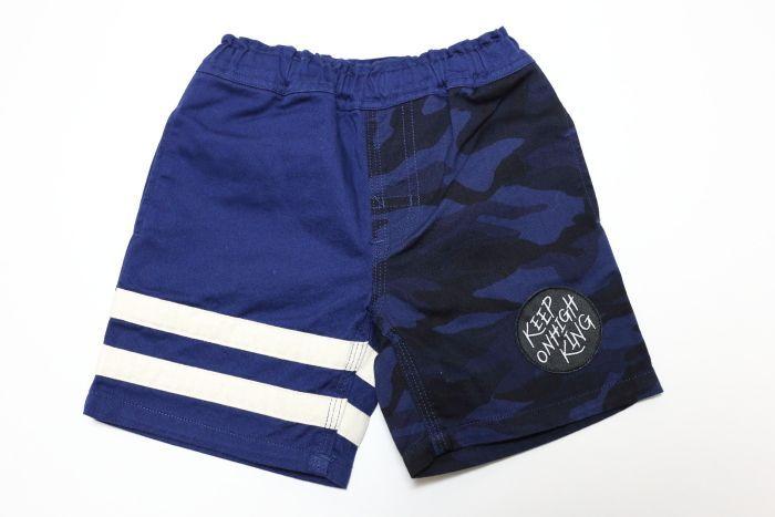 画像1:  【SALE20%OFF!!】 HIGHKING(ハイキング) padle shorts【navy】【100-120cm 】 (1)