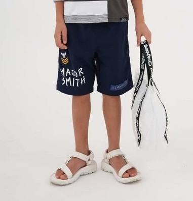 画像1:  【SALE20%OFF!!】 HIGHKING(ハイキング) smith shorts【navy】【130-140cm 】 (1)