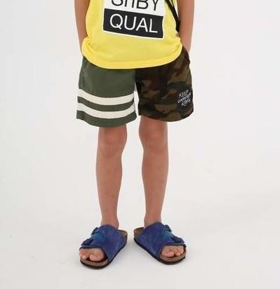 画像1:  【SALE20%OFF!!】 HIGHKING(ハイキング) padle shorts【olive】【130-140cm 】 (1)