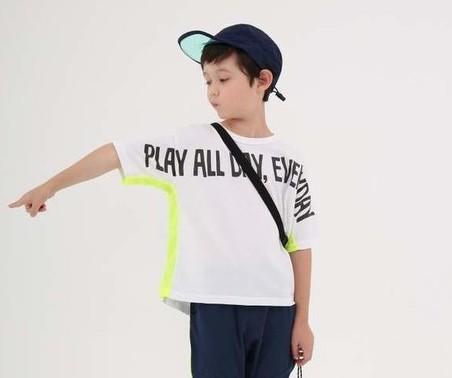 画像1:  【SALE20%OFF!!】 HIGHKING(ハイキング) play all shortsleeve【white】【90-120cm 】 (1)