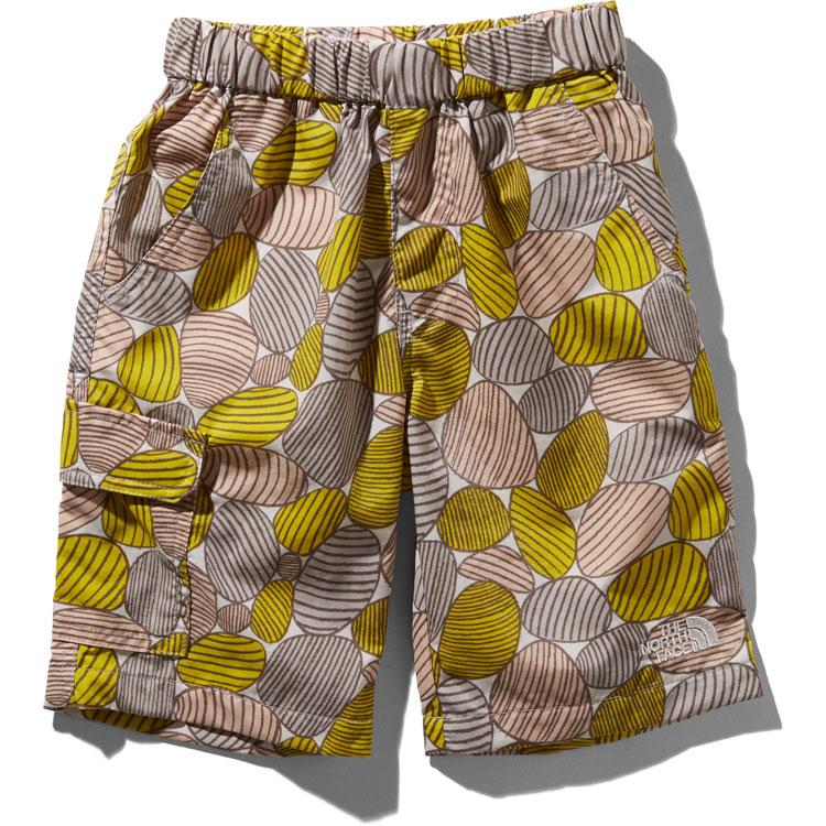 画像1: THE NORTH FACE(ザ・ノースフェイス) Novelty Class V Shorts (ノベルティクラスファイブショーツ) 【YC/イエローストーンカモフラージュ】【キッズ/ベビー】【100-140cm】 (1)