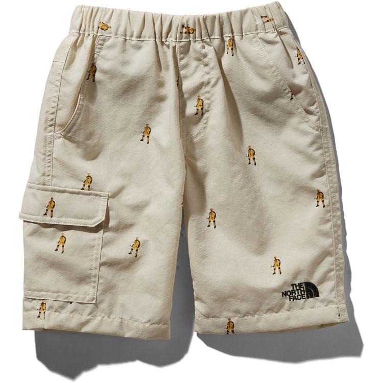 画像1: THE NORTH FACE(ザ・ノースフェイス) Novelty Class V Shorts (ノベルティクラスファイブショーツ) 【SP/ヒムスーツプリント】【キッズ/ベビー】【80-140cm】 (1)