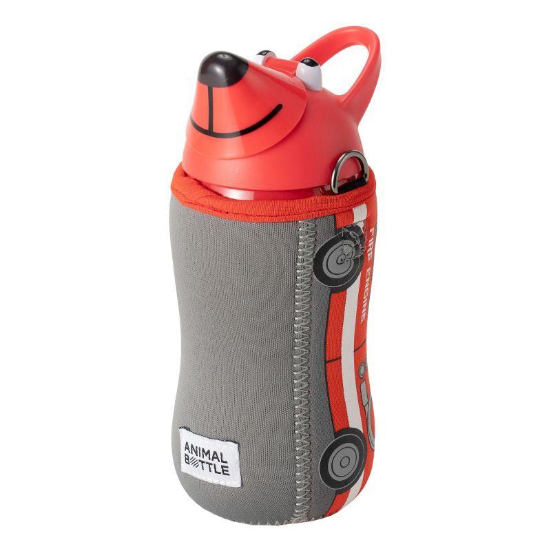 画像1: thermomug(サーモマグ) ANIMAL BOTTLE VEHICLE FIRE ENGINE【RED】 (1)