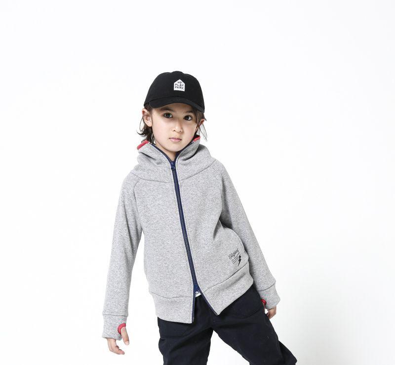 画像1: HIGHKING(ハイキング) minnesota jacket【gray】【130-150cm 】 (1)