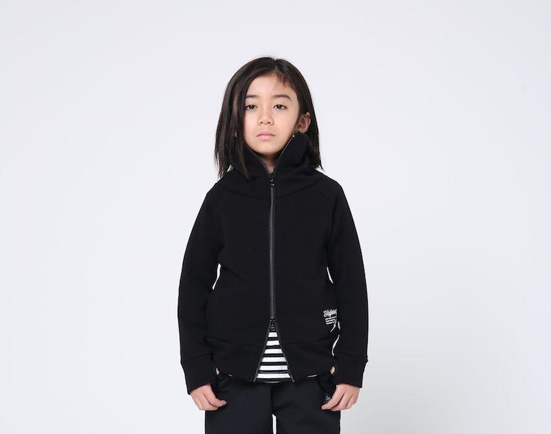 画像1: HIGHKING(ハイキング) minnesota jacket【black】【100-120cm 】 (1)