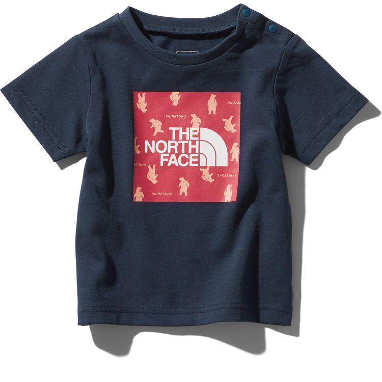 画像1: THE NORTH FACE(ザ・ノースフェイス) S/S Shiretoko Toko Tee (ショートスリーブシレトコトコティー) 【UN/アーバンネイビー】【ベビー/キッズ】【80-150cm】 (1)