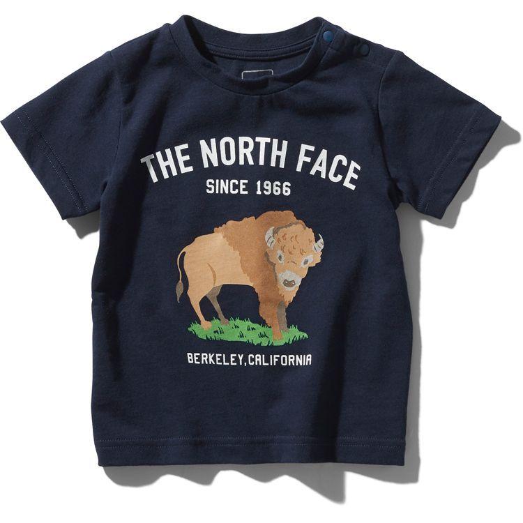 画像1: THE NORTH FACE(ザ・ノースフェイス) S/S Graphic Animal Tee (ショートスリーブグラフィックアニマルティー) 【UN/アーバンネイビー】【ベビー/キッズ】【80-150cm】 (1)
