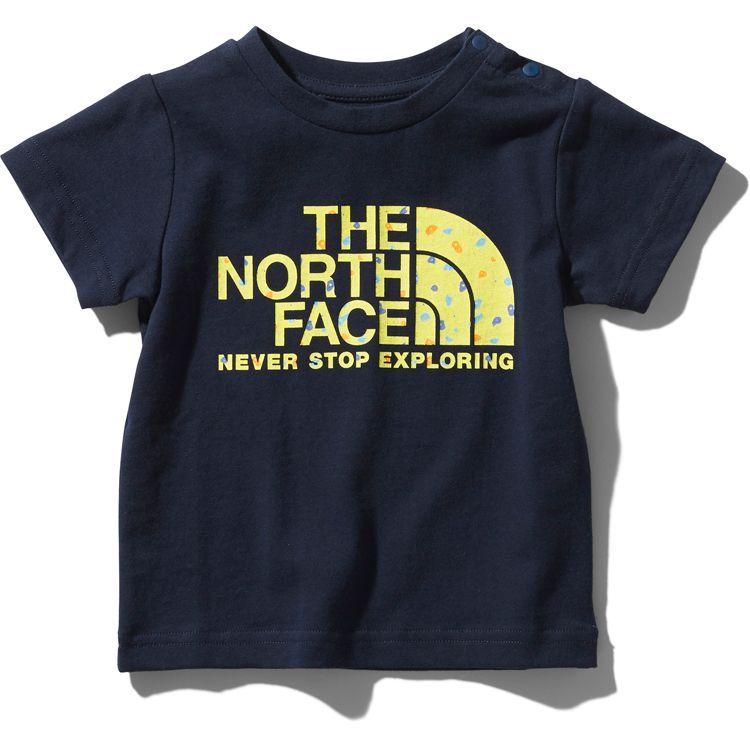 画像1: THE NORTH FACE(ザ・ノースフェイス) S/S Hold Graphic Dome Tee (ショートスリーブホールドグラフィックドームティー) 【UN/アーバンネイビー】【ベビー/キッズ】【80-150cm】 (1)