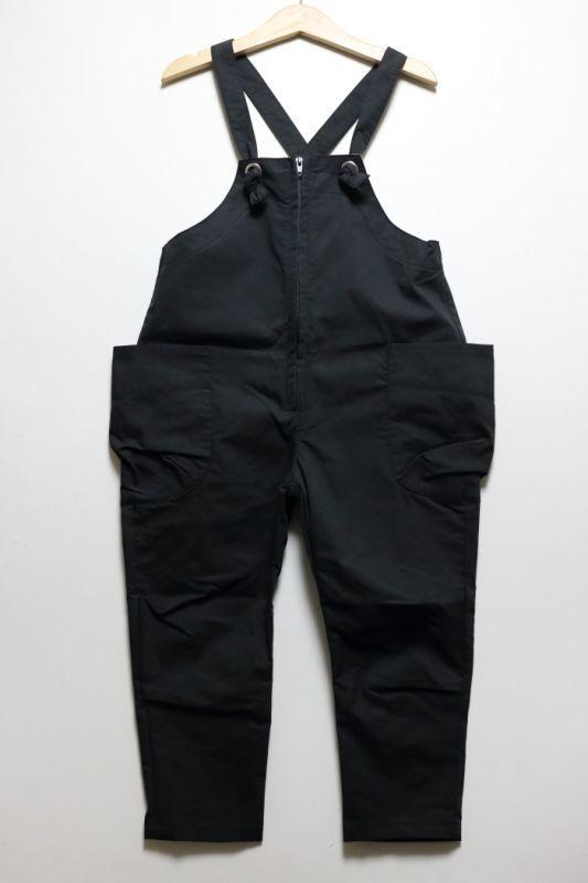 画像1: HIGHKING(ハイキング) arum salopette【black】【100-150cm 】 (1)