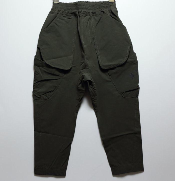 画像1: HIGHKING(ハイキング) arms pants【olive】【100-150cm 】 (1)