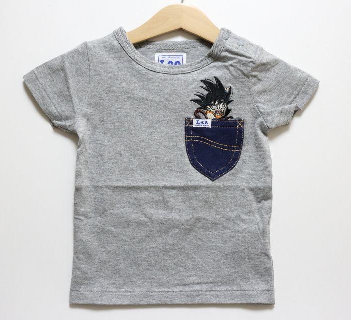 画像1: 【SALE20%OFF】Lee(リー)×StompStamp(ストンプスタンプ)×ドラゴンボール 悟空Tシャツ【グレー】【ベビー/キッズ】【80-120cm】 (1)