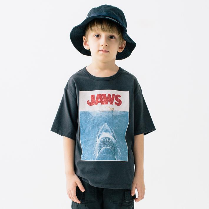 画像1: SMOOTHY(スムージー) UNIVERSAL Picturesコラボ フィルムTee【JAWS】【90-160cm】 (1)