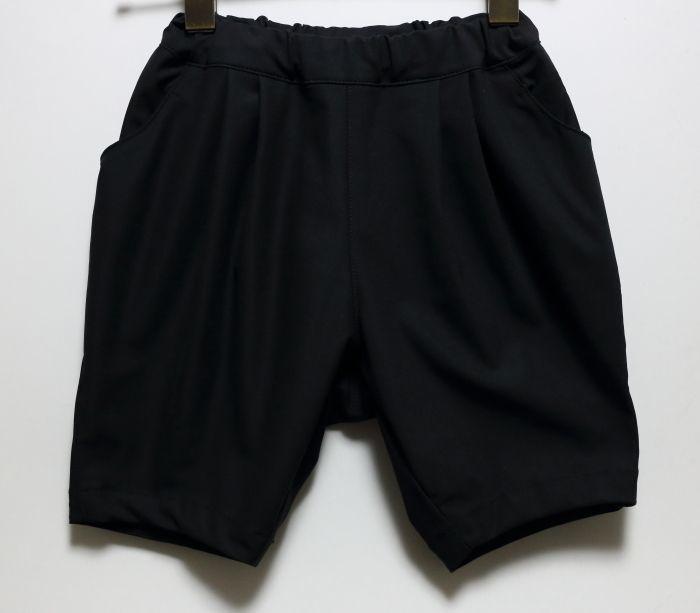 画像1: 【SALE20%OFF】HIGHKING(ハイキング) glitter shorts【black】【100-150cm 】 (1)