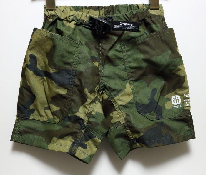 画像1: HIGHKING(ハイキング) hide shorts【olive】【90-150cm 】 (1)