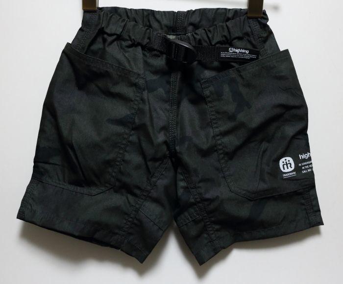 画像1: HIGHKING(ハイキング) hide shorts【black】【90-150cm 】 (1)
