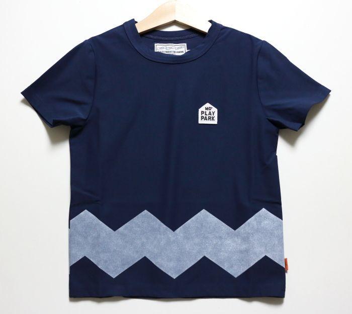画像1: HIGHKING(ハイキング) naughty short sleeve【navy】【90-150cm 】 (1)