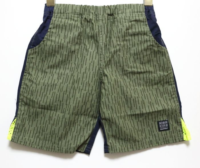 画像1: HIGHKING(ハイキング) treck shorts【st-green】【100-150cm 】 (1)