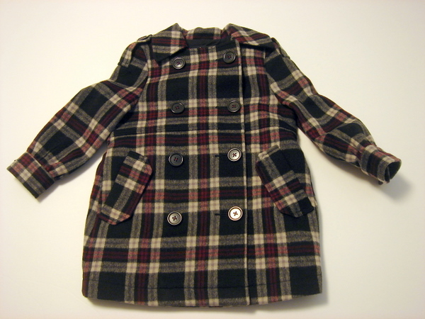 画像1: americanretro SCOTLAND COAT KIDS 【キッズ】【ベビー】【子供】 (1)